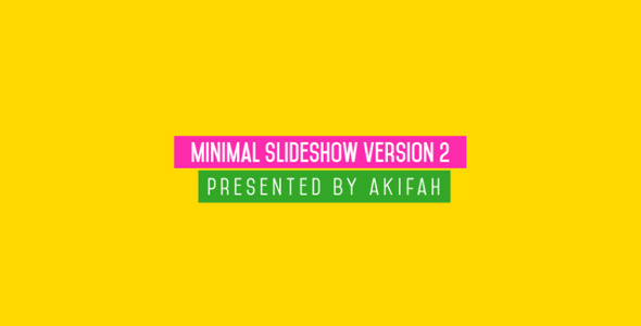 Minimal Slideshow V.2