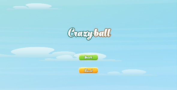 CodeCanyon Crazy Ball Android Game 8943480