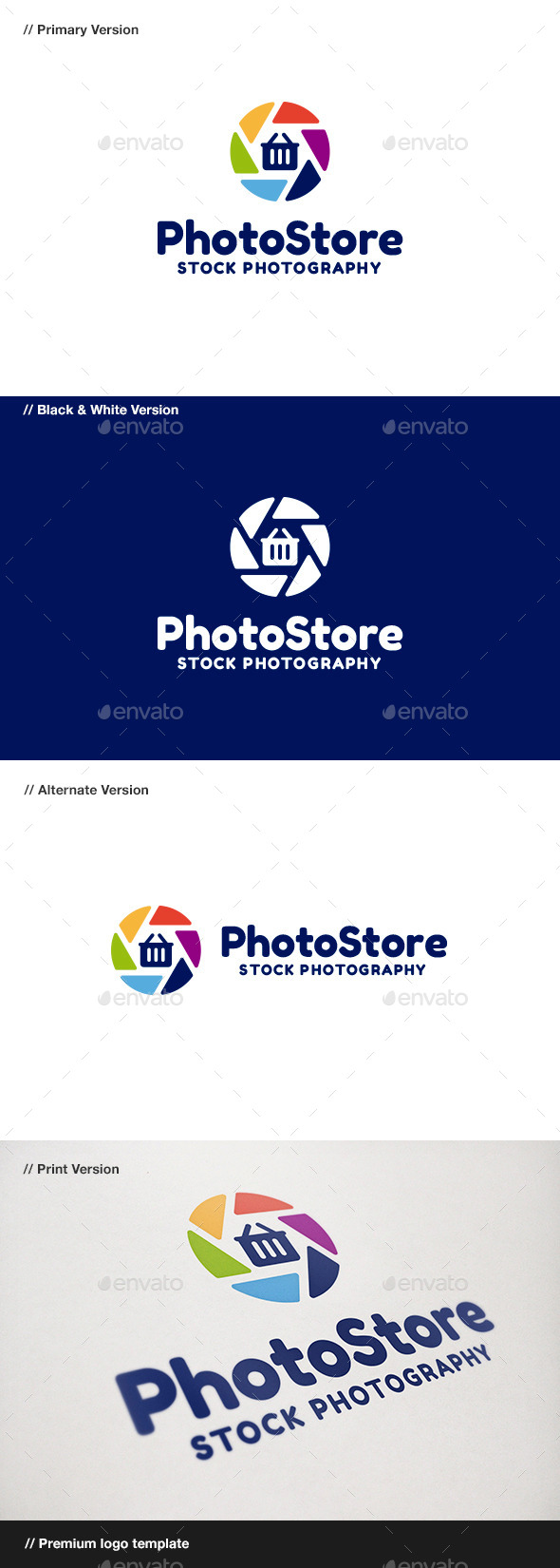 GraphicRiver Photo Store 8943511