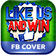Like Us Promo FB Cover - GraphicRiver Item for Sale