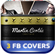 3 Musician or Band FB Covers - GraphicRiver Item for Sale