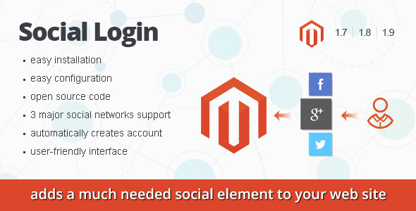 CodeCanyon Magento Social Login 8943885