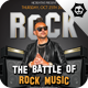 Battle Rock Poster Flyer Template - GraphicRiver Item for Sale