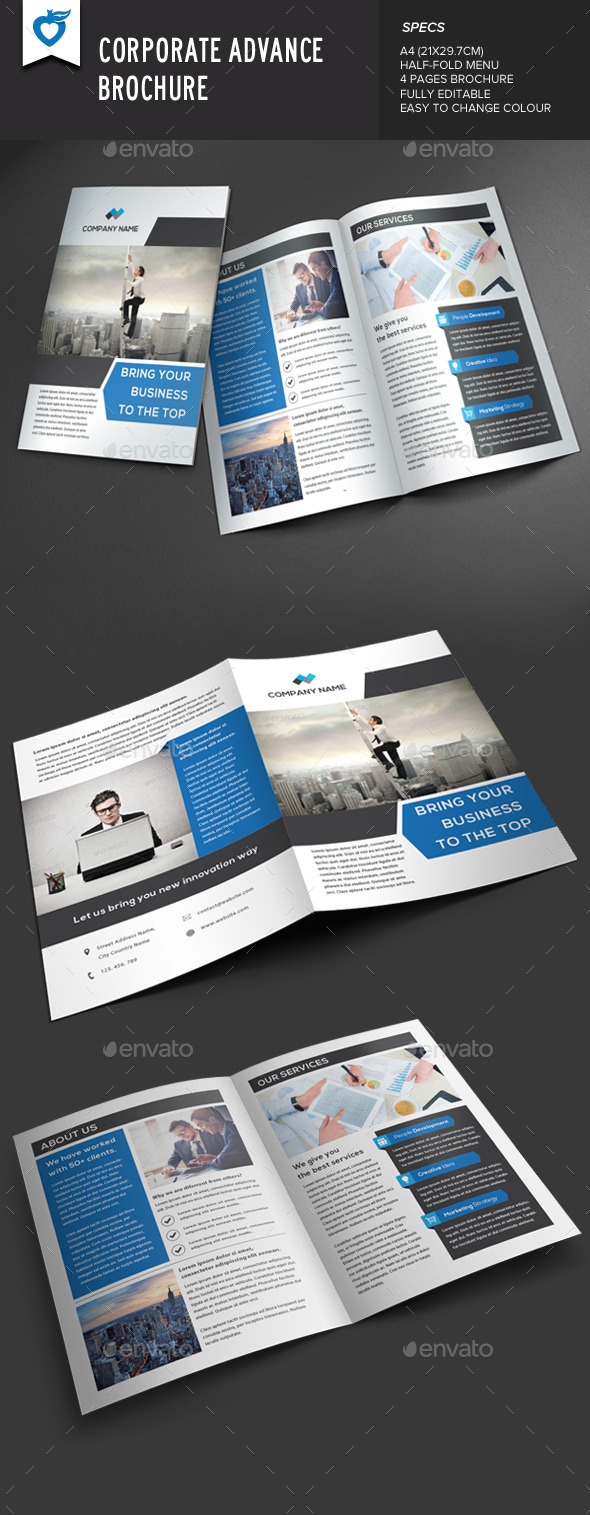 GraphicRiver Corporate Advance Brochure 8943998
