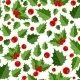 Abstract Beauty Christmas Berry Seamless Pattern - GraphicRiver Item for Sale