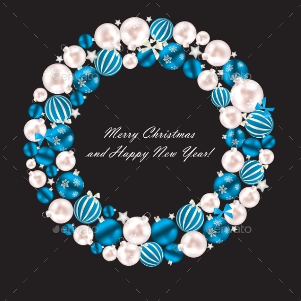 GraphicRiver Abstract Beauty Christmas and New Year Background 8944216