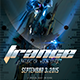 Trance Electro Event Flyer