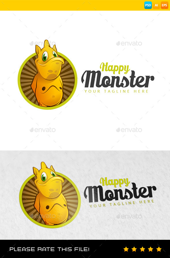 GraphicRiver Monster Logo 8936629