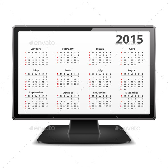GraphicRiver 2015 Calendar 8944393