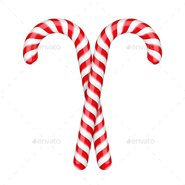 GraphicRiver Candy Canes 8944395