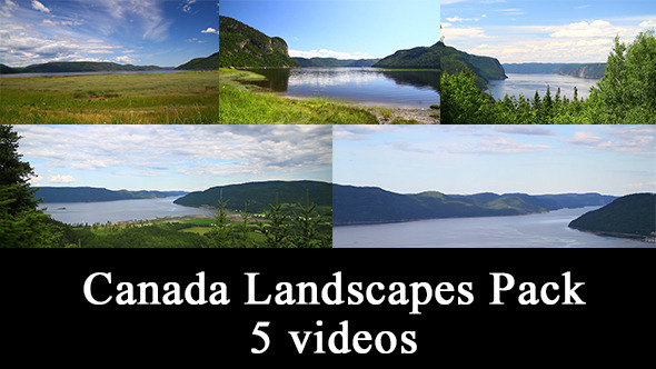 Canadian National Park Landscape