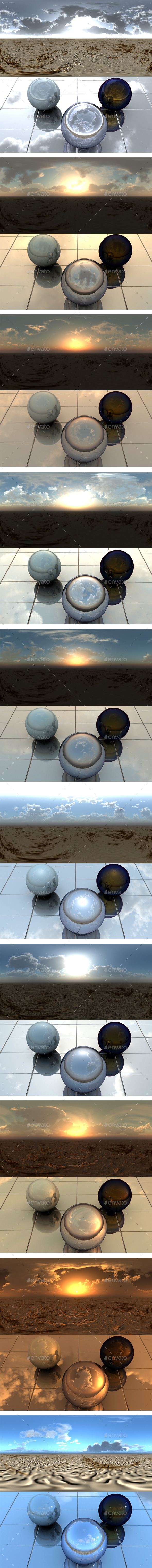 Pack - Desert 13 - 3DOcean Item for Sale
