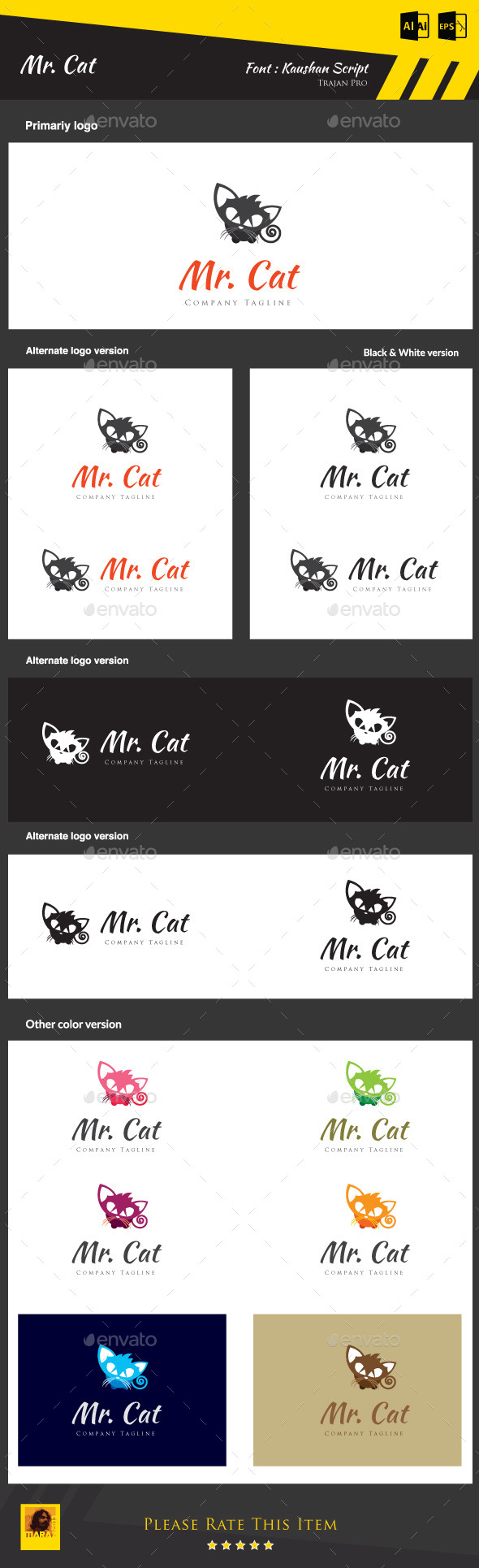 GraphicRiver Mr Cat 8942992