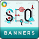 SEO Web Banner Design Set - GraphicRiver Item for Sale
