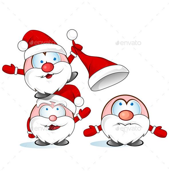 GraphicRiver Santa Claus Cartoon 8946275