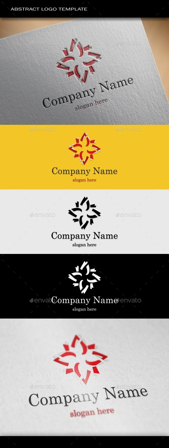 GraphicRiver Abstract Logo Template 8946378