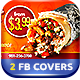 Mexican Fast Food FB Cover - GraphicRiver Item for Sale