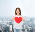 smiling little girl in white blank t-shirt - PhotoDune Item for Sale