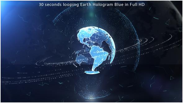 Low Gravity Earth Hologram 2