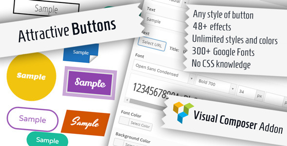 CodeCanyon Attractive Buttons for Visual Composer 8946784