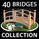 Collection of Bridges - 3DOcean Item for Sale