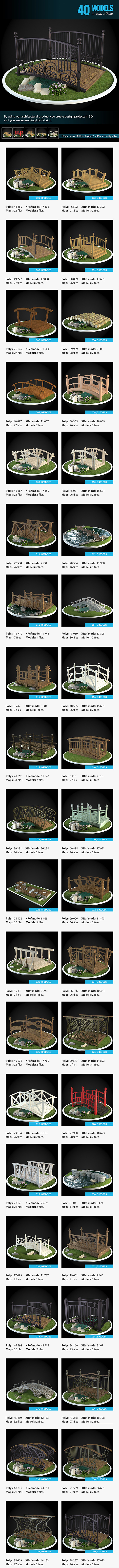 3DOcean Collection of Bridges 8946804