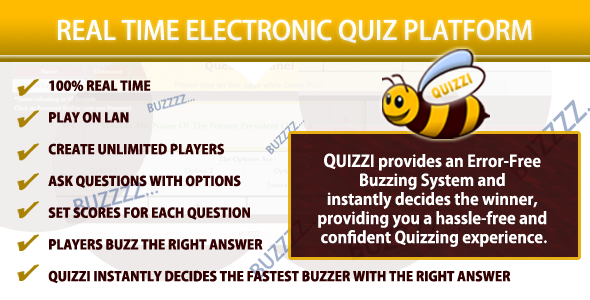 CodeCanyon The Electronic Quiz Platform Quizzi 8878909
