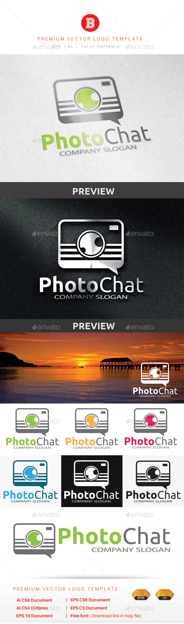 GraphicRiver Photo Chat 8947356