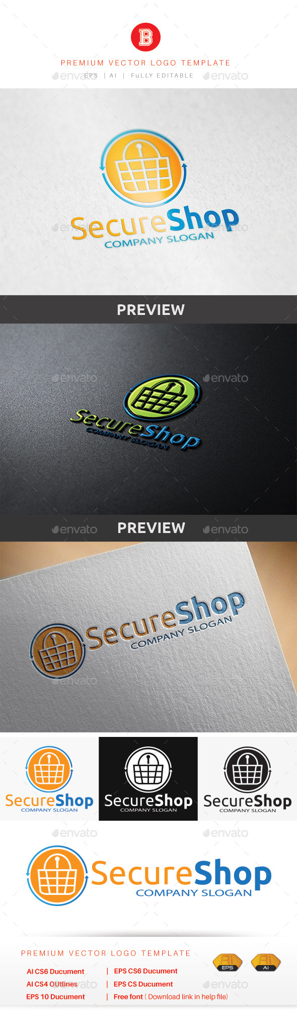 GraphicRiver Secure Shop 8947508