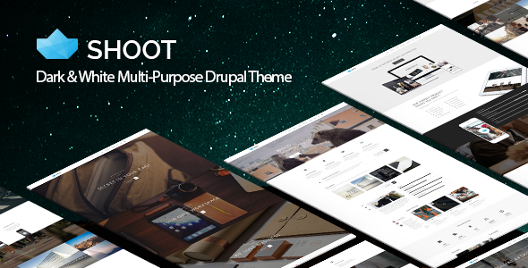 ThemeForest Shoot Multi-purpose eCommerce Drupal Theme 8947583