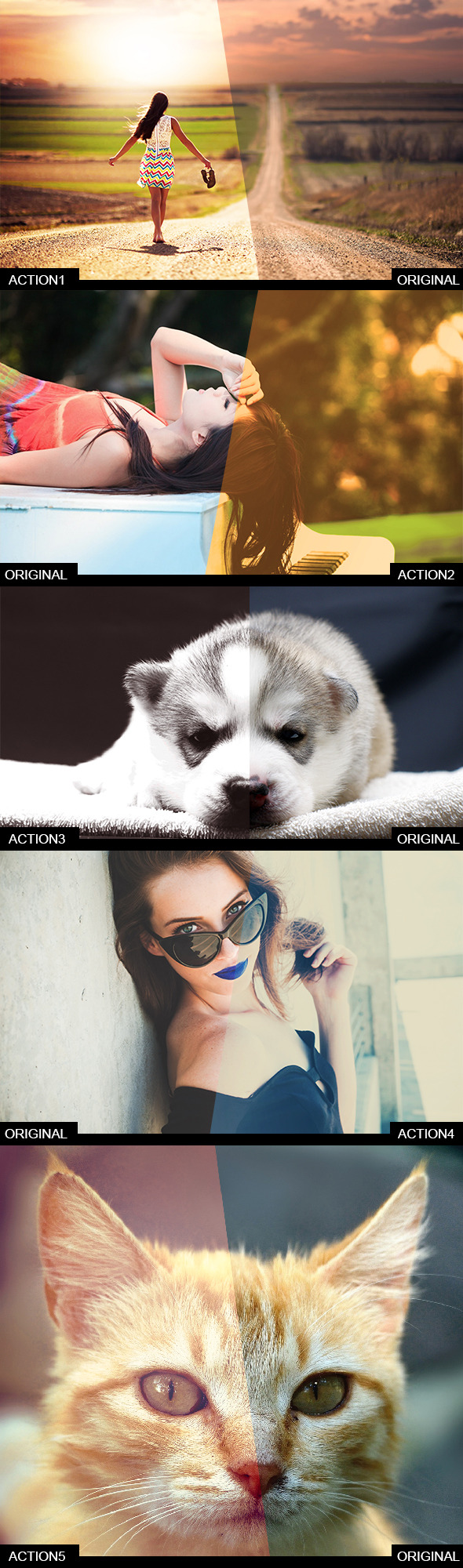 GraphicRiver 5 Quality Actions 8942668