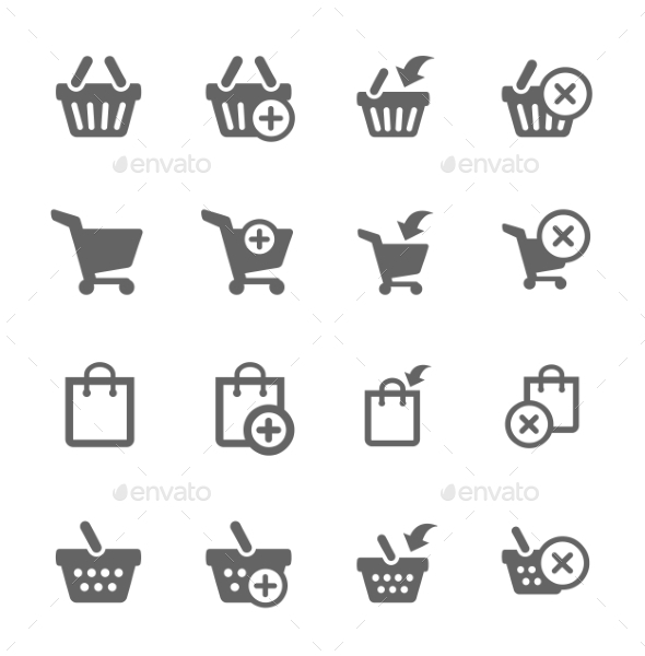GraphicRiver Shopping Bags and Carts 8948238