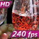 Pouring a Glass of Rose Wine - VideoHive Item for Sale