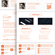 Cover Letter & Portfolio V 1.0 - GraphicRiver Item for Sale