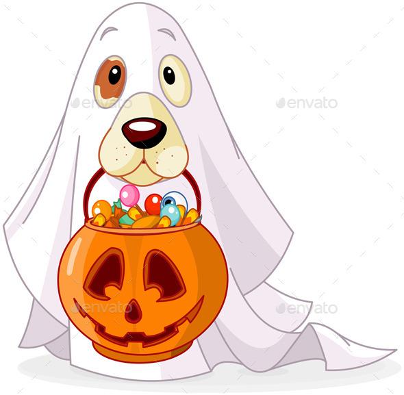 GraphicRiver Halloween Dog 8948428
