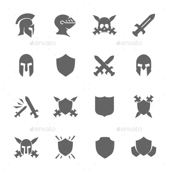 GraphicRiver War Icons 8948581