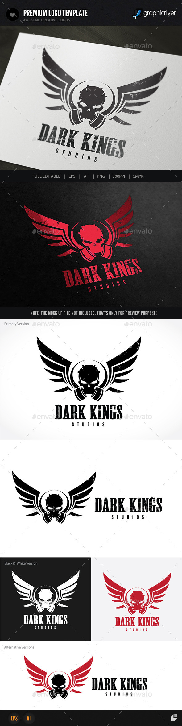 GraphicRiver Dark Kings 8948738