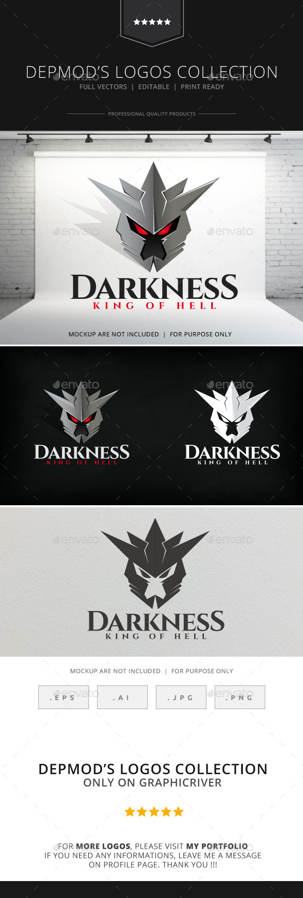 GraphicRiver Darkness Logo 8948913
