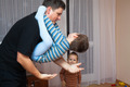 Playful father and child boy - PhotoDune Item for Sale
