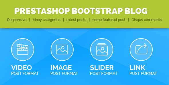 CodeCanyon Prestashop Bootstrap Blog 8950049