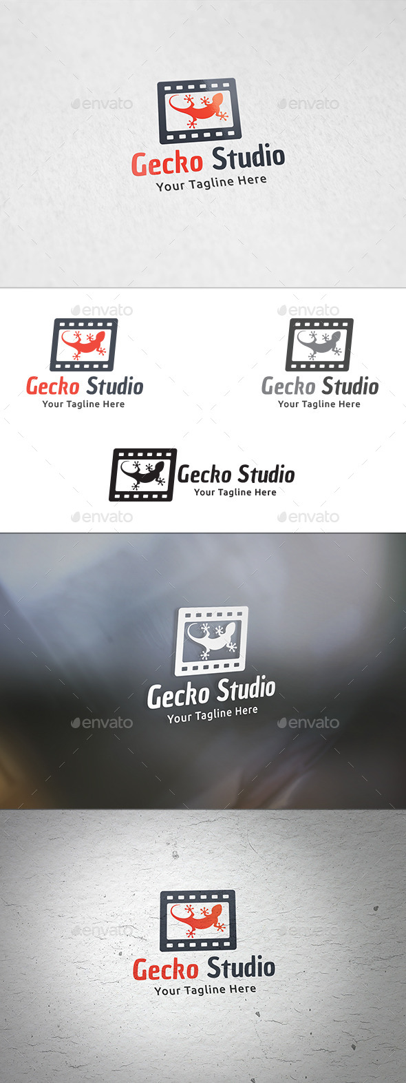 GraphicRiver Gecko Studio Logo Template 8950054