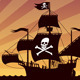 Pirate Ship Sailing - VideoHive Item for Sale