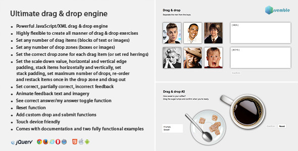 CodeCanyon Ultimate Drag and Drop Engine 8950566