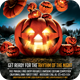 Halloween Party Flyer v2  - GraphicRiver Item for Sale
