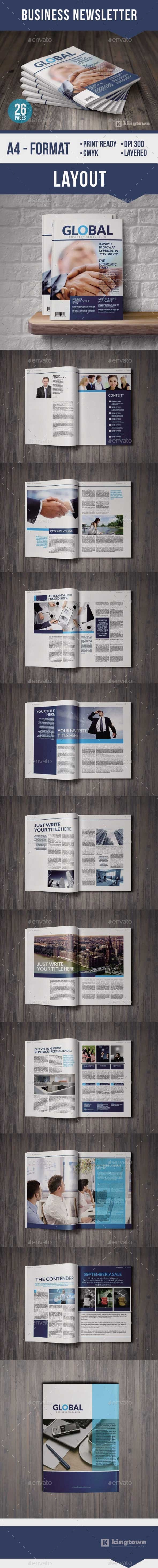 GraphicRiver Business Newsletter Vol 1 8902364