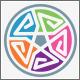 E Letter Five Element Logo - GraphicRiver Item for Sale