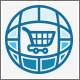World Wide Online Shopping Market Logo - GraphicRiver Item for Sale