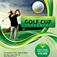 Golf Flyer Template with Registration Form - GraphicRiver Item for Sale
