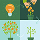 Vector Crowdfunding Concept in Flat Style - GraphicRiver Item for Sale