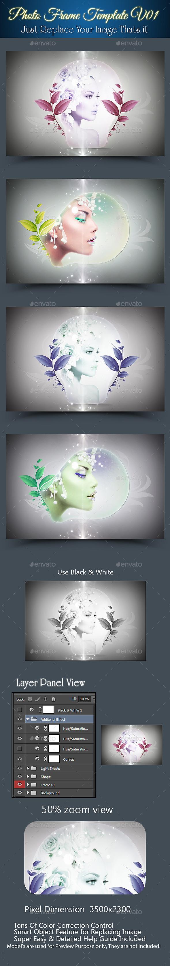 GraphicRiver Photo Frame Template V01 8952005
